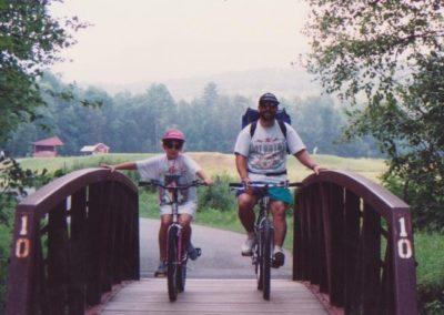 KMS & DAD IN STOWE,VT
