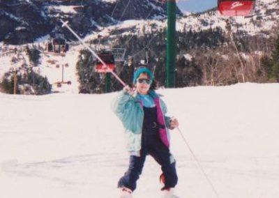 KMS skiing inn Stowe, VT